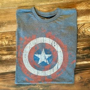 Marvel captain America tee